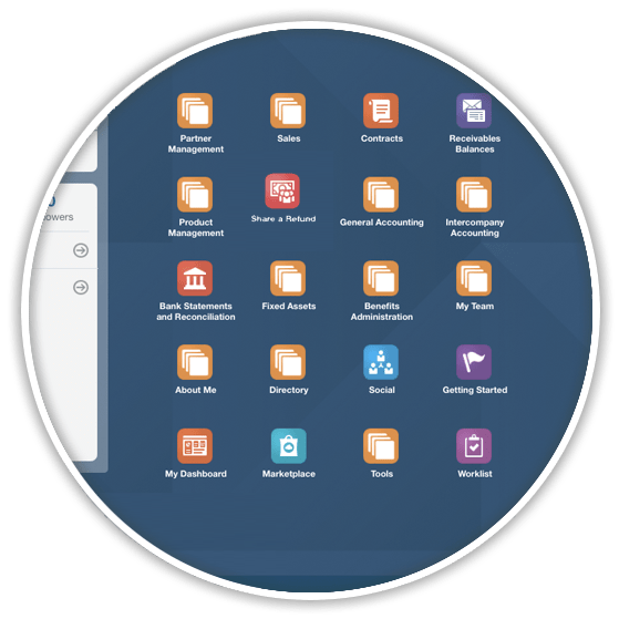 Oracle Cloud Homepage