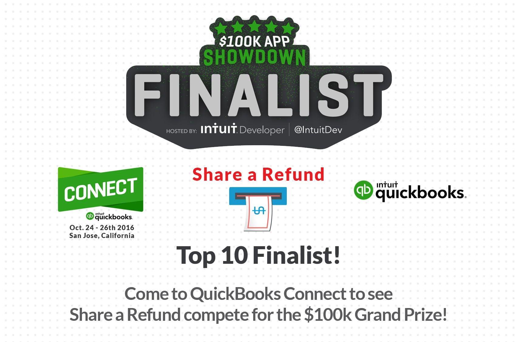 app showdown finalist for qbo connect